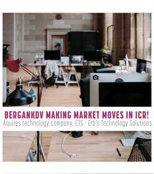 BerganKDV and Erb's Technology Solutions Join Forces