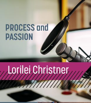 Up and Adam // Lorilei Christner Combining Process and Passion